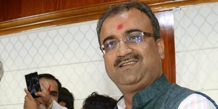 File image of Bihar health minister Mangal Pandey. Image courtesy: Scroll.in