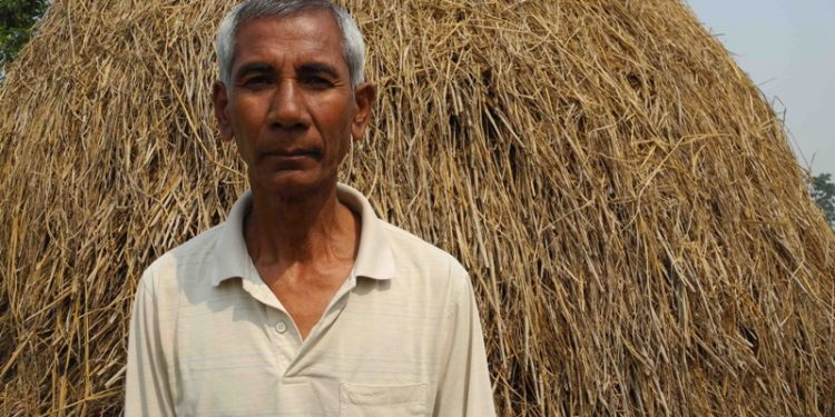 Budhan Mahato evicted from the Chitwan National Park.