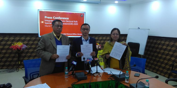 This came to light when the state election authority published and released the integrated final photo electoral rolls of all the 60 Assembly Constituencies of the State in Imphal on Friday.