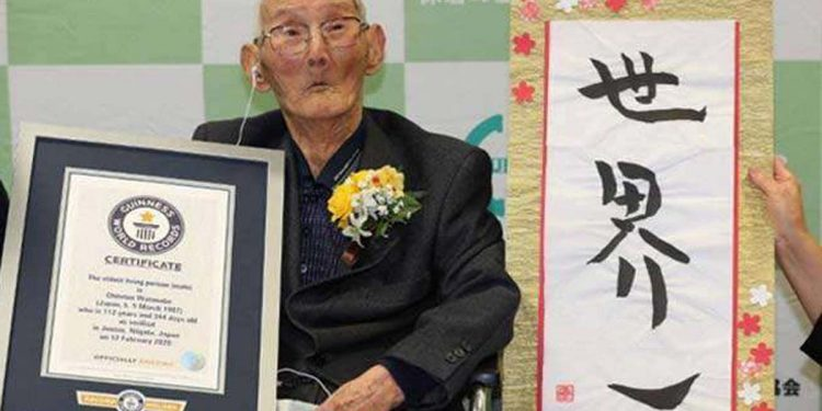 World's oldest man dies at 112, just 11 days after Guinness record 1