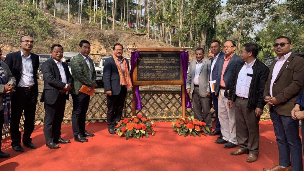 Meghalaya CM lays foundation stone for Baghmara Civil Hospital's new building  1