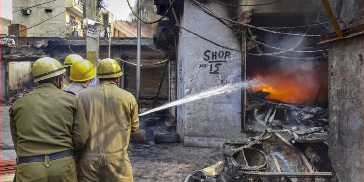At least 23 people, including a Delhi Police head constable and a IB official , have died so far in the riots.