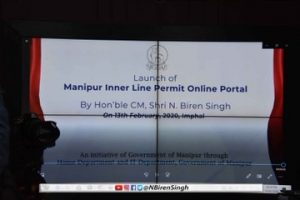 Manipur: ILP goes online from Friday 3