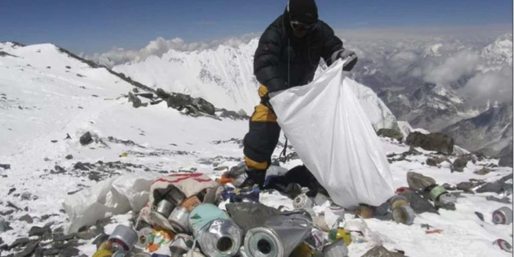 Everest clean-up