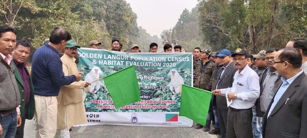 Assam: Golden langur census & habitat evaluation begins in Manas 1