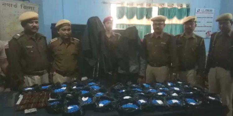 Hojai police