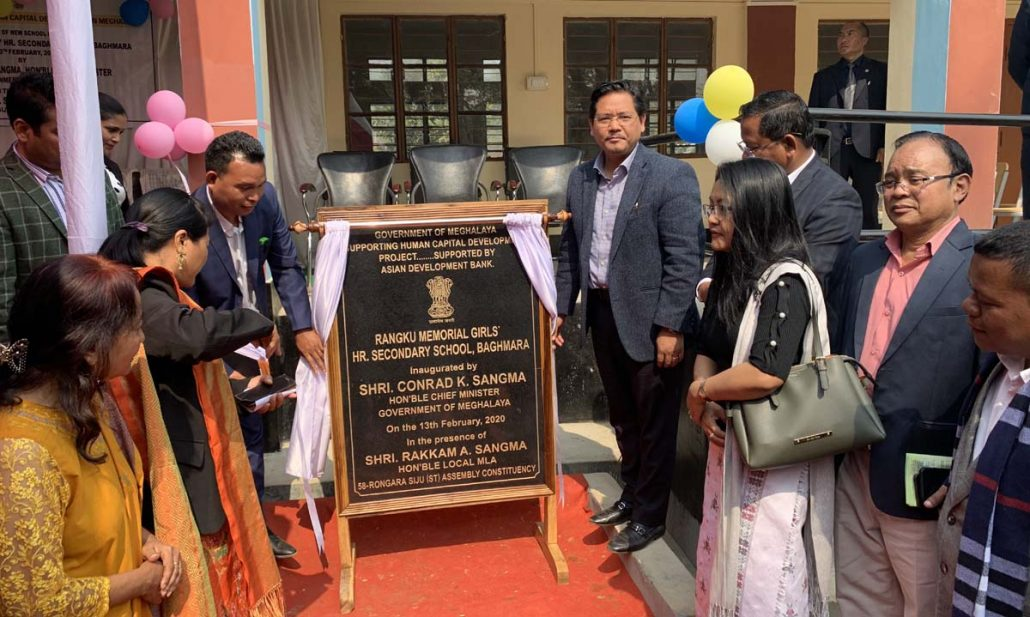 Meghalaya CM lays foundation stone for Baghmara Civil Hospital's new building  2
