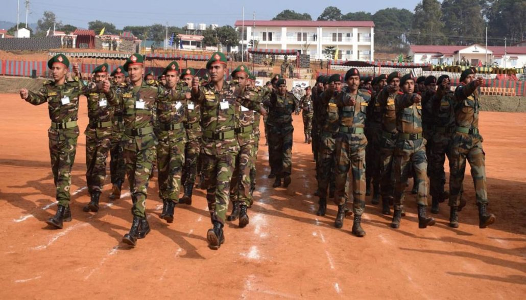 Indo-Bangla joint military exercise begins at Umroi in Meghalaya 3