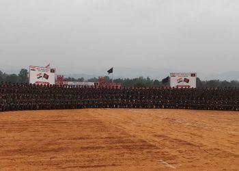 Indo-Bangla joint military exercise begins at Umroi in Meghalaya 1