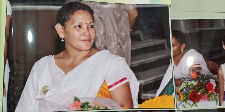 Kampa Borgoyary's wife