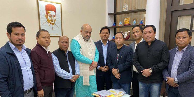 MDA delegation with Amit Shah