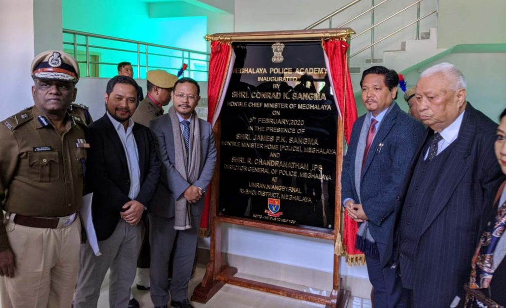 Meghalaya police academy