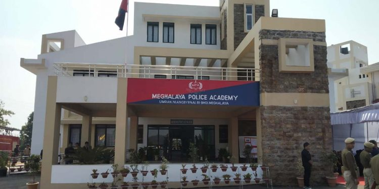 Meghalaya police academy1