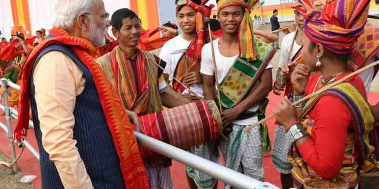 Bodo 'deadliest tribe in Assam' as Modi celebrates signing of Bodo Peace Accord in Kokrajhar 1