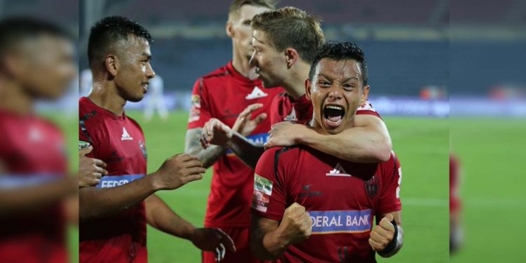 NEUFC, Jamshedpur FC play out 3-3 draw at Guwahati 1