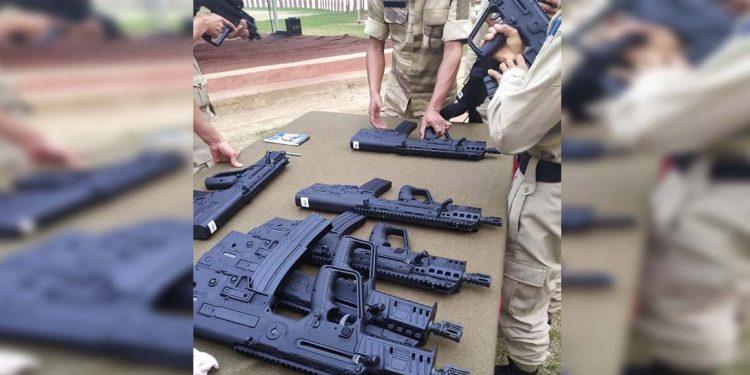 Nagaland police Tavor X95
