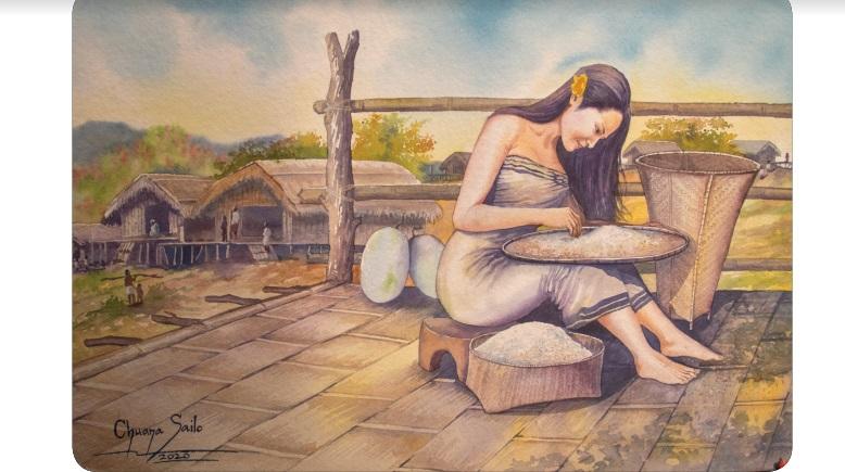 Mizo painting exhibition opens in Kolkata 3