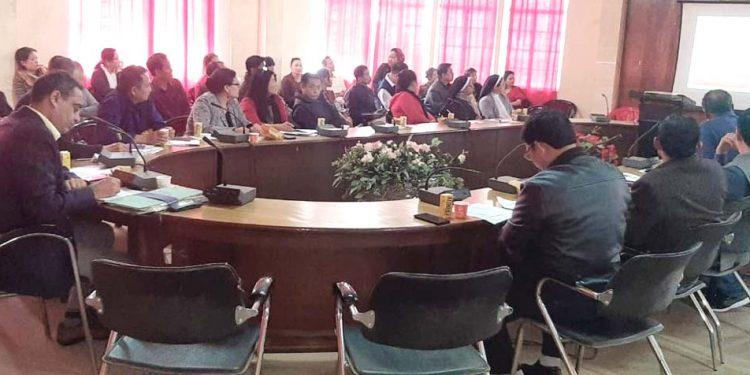 Meeting on HIV at Dimapur