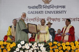 Assam Governor attends 28th convocation of Gauhati University 1