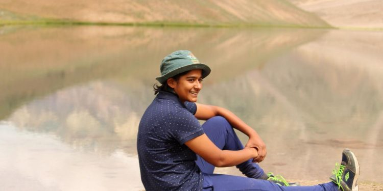 File image of Meghalaya woman cricketer Saee Purandare
