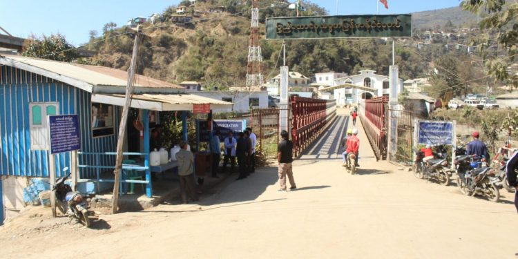 The screening camp along Indo-Myanmar border. Image: Northeast Now