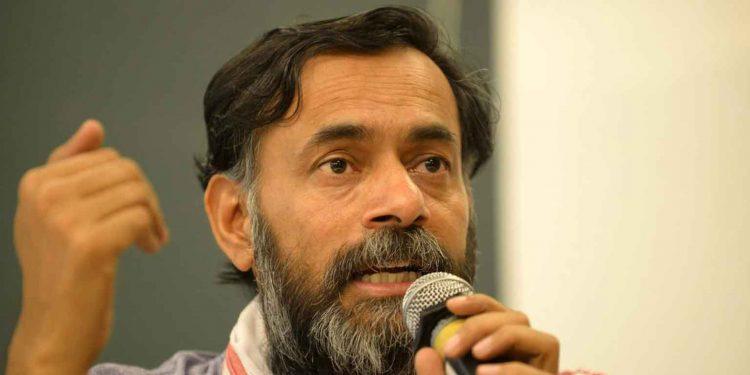 A file image of Yogendra Yadav
