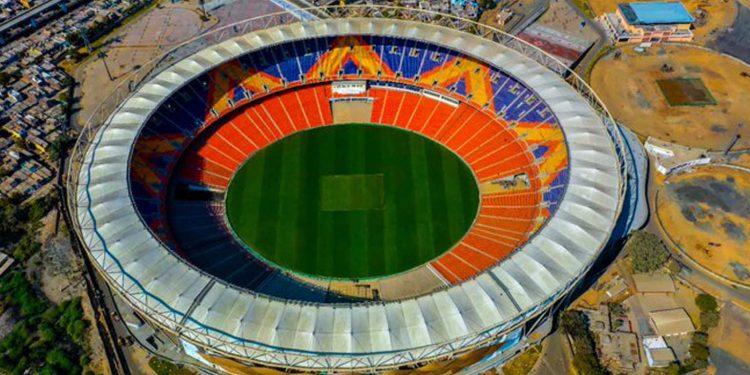 Motera Cricket Stadium. Image credit: @BCCI