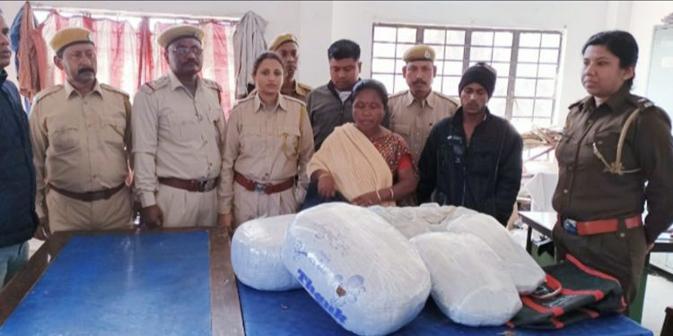 Three persons were arrested in Mangaldai and ganja was seized from their possession. Image: Northeast Now