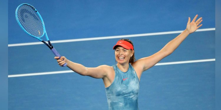 Maria Sharapova. Image credit: WTA