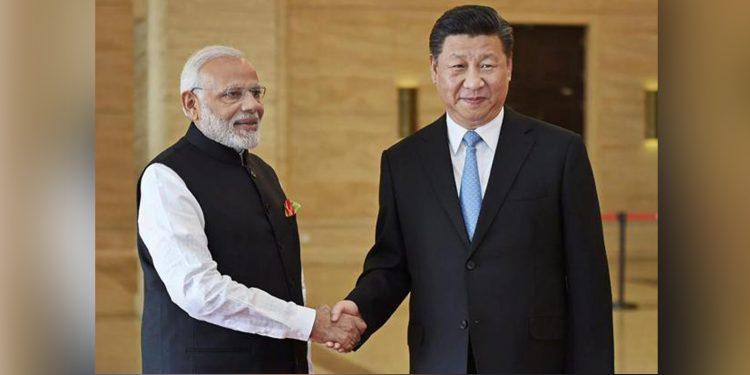A file image of Modi with Xi Jinping. Image credit: Livemint