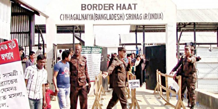An image of Border Haat. Image credit: Dhaka Tribune