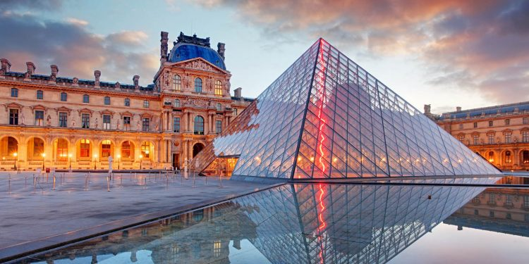 Louvre Museum. Image credit: Architectural Digest