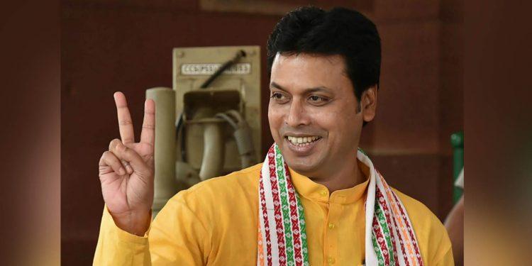 Tripura CM Biplab Deb. image credit: News18