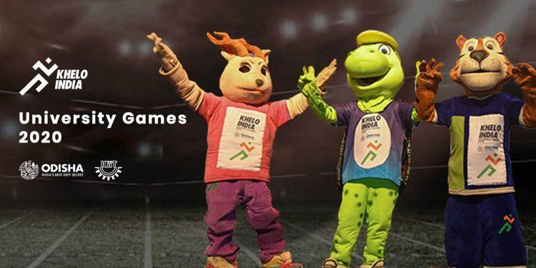 Khelo India University Games mascots. Image credit: KIIT