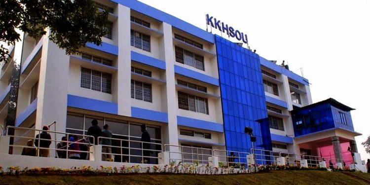 KKHSOU building. Image credit: Collegedunia
