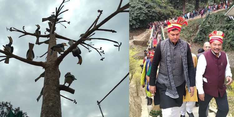 Biplab Deb on his way to Hornbill Festival site. Image: Northeast Now