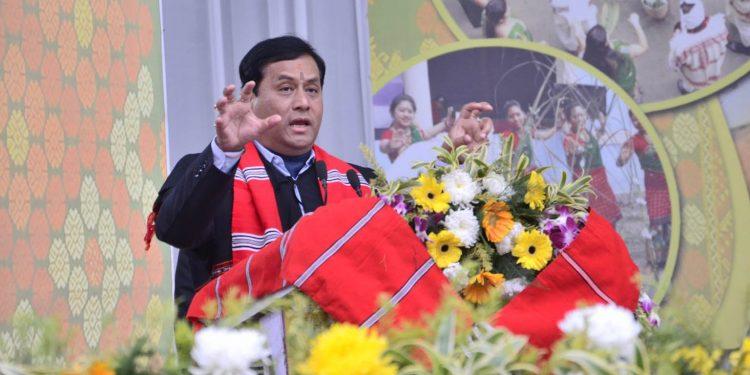 Assam CM Sarbananda Sonowal. (File image)