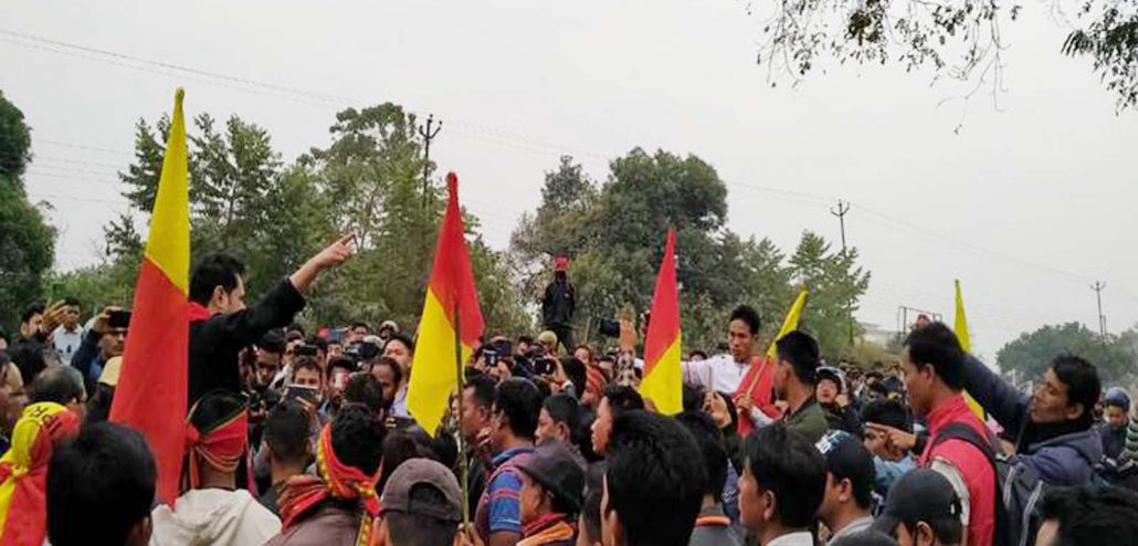 Anti-CAA protest: Pradyot Debbarma, CPI (M) take out rallies in Tripura 3