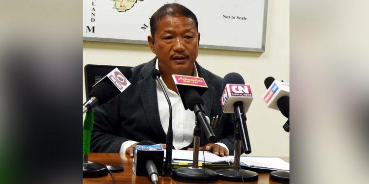 Arunachal Pradesh home minister Bamang Felix. Image: Northeast Now