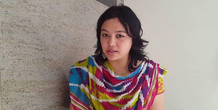 File image of Urmila Chanam. Image courtesy: Youtube