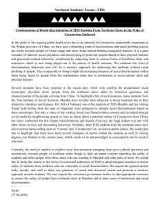 Coronavirus: Northeast students' forum in Mumbai alleges discrimination 4