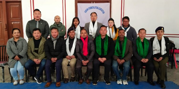 File image of the Sikkim strength lifting team before their departure for Bangkok. Image: Northeast Now
