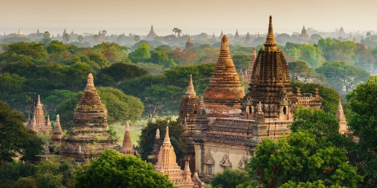 Representative image of Bagan in Myanmar, Image courtesy: Steppes Travel
