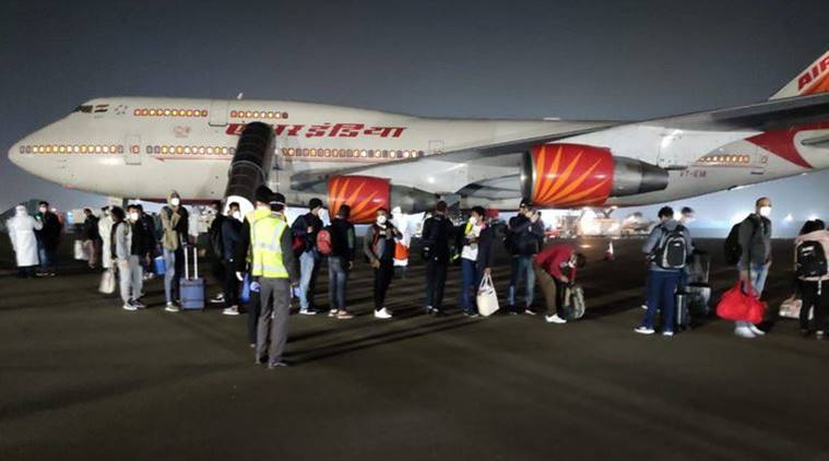 Indians From Quarantined Japan Ship Land In Delhi On Air India Flight