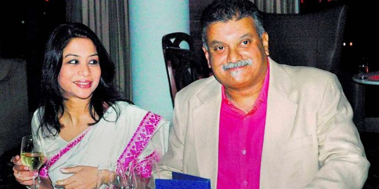 File image of Peter and Indrani Mukherjea during happy days