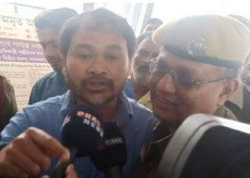 Akhil Gogoi being taken to GMCH (File image)