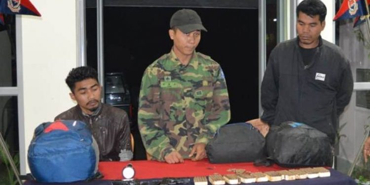Three NLFT militants on Tuesday surrendered before BSF at Udaipur in Gomati district.