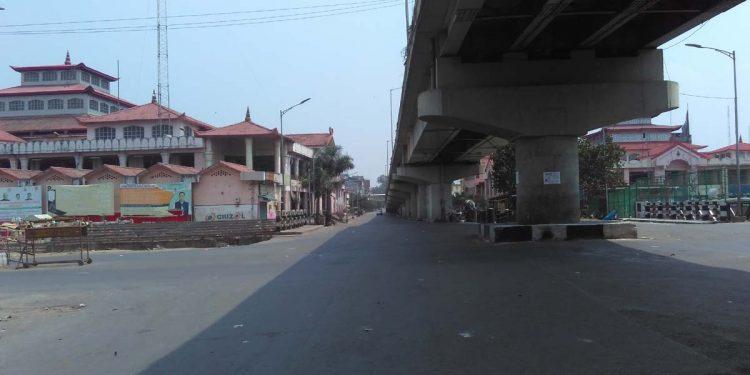 Lockdown in Manipur
