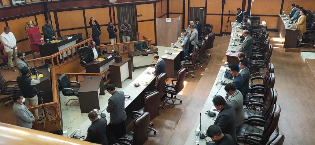 Meghalaya: Special session amid lockdown; Titosstarwell Chyne elected KHADC CEM 4