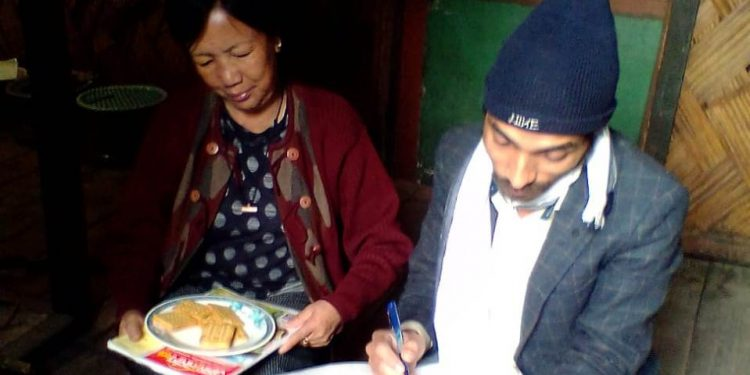 Mudo Dumi, a teacher at Ziro who was a co artiste in the cinema, reveals how Hazarika used to smoke frequently.